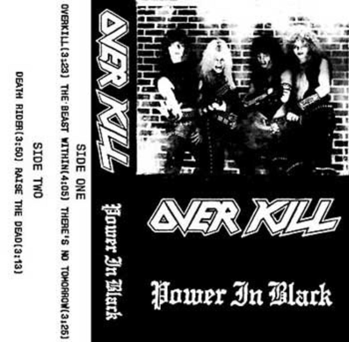 POWER IN BLACK demo, 1983.