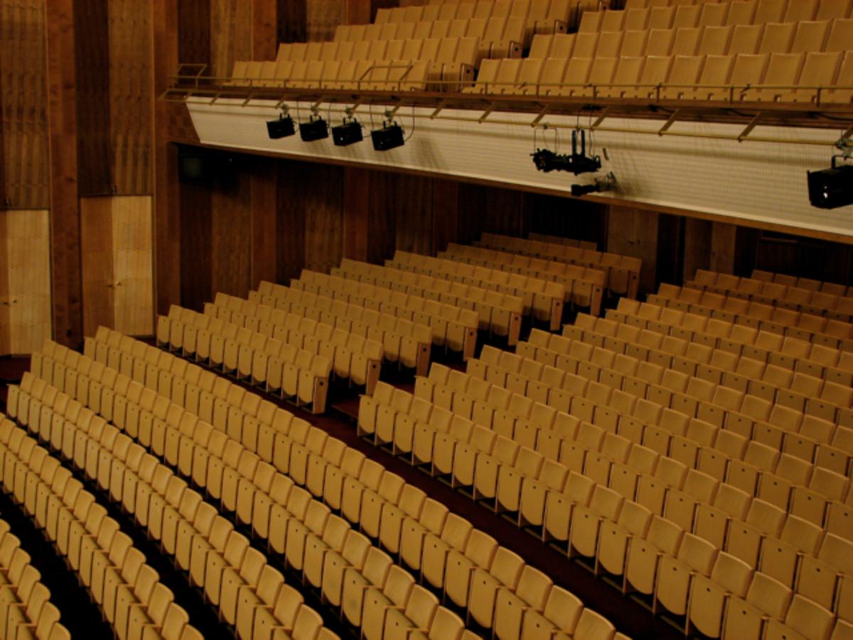 Leipzig Opera, balcony and stalls