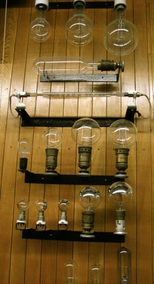Old globes, lighting museum, Leipzig Opera.