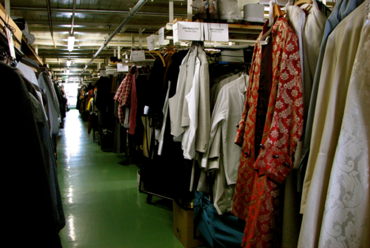 Leipzig opera costumes, barely any room to move!