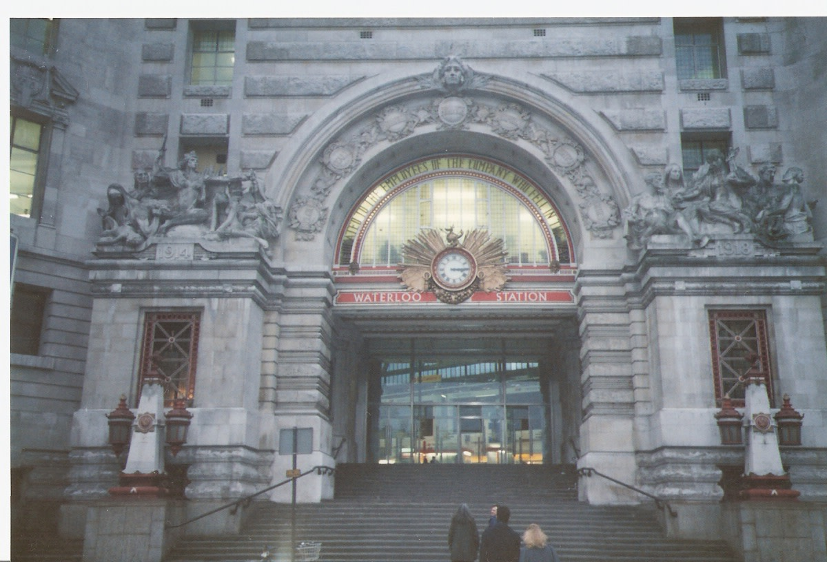 Waterloo Station, 1988