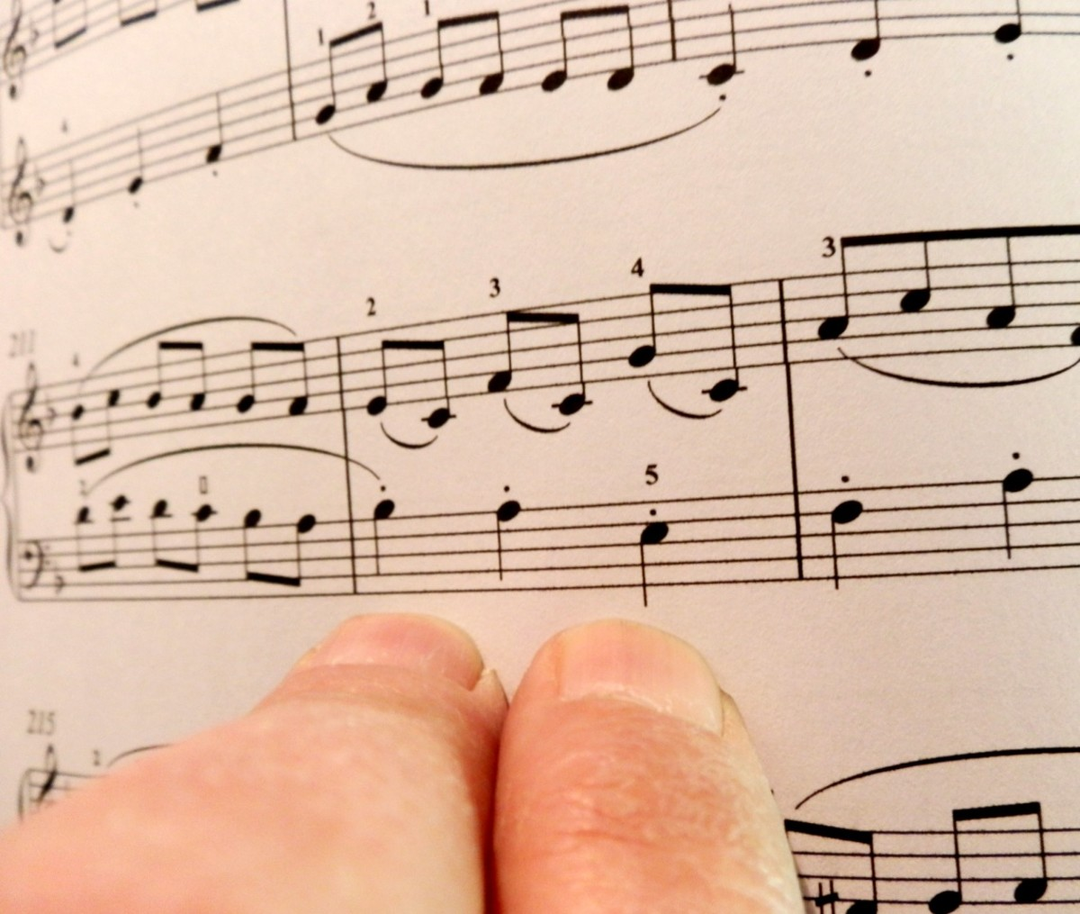 Practise away from the piano to challenge yourself