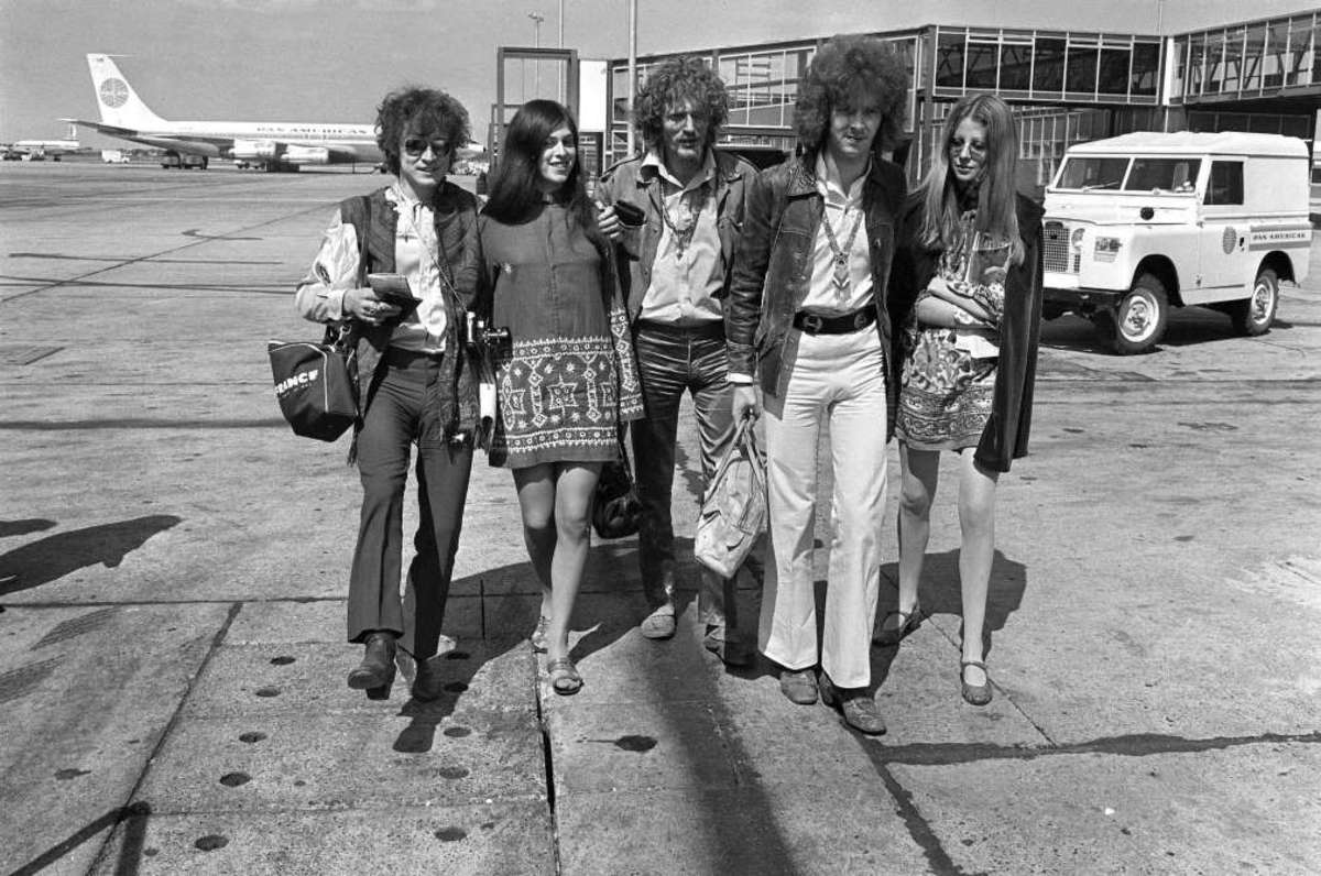Cream and friends in 1967