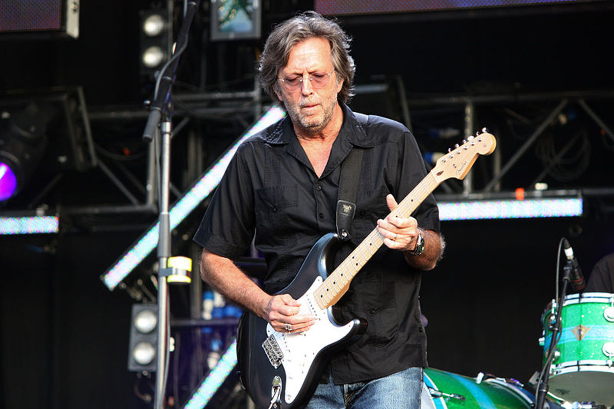 Clapton in 2008