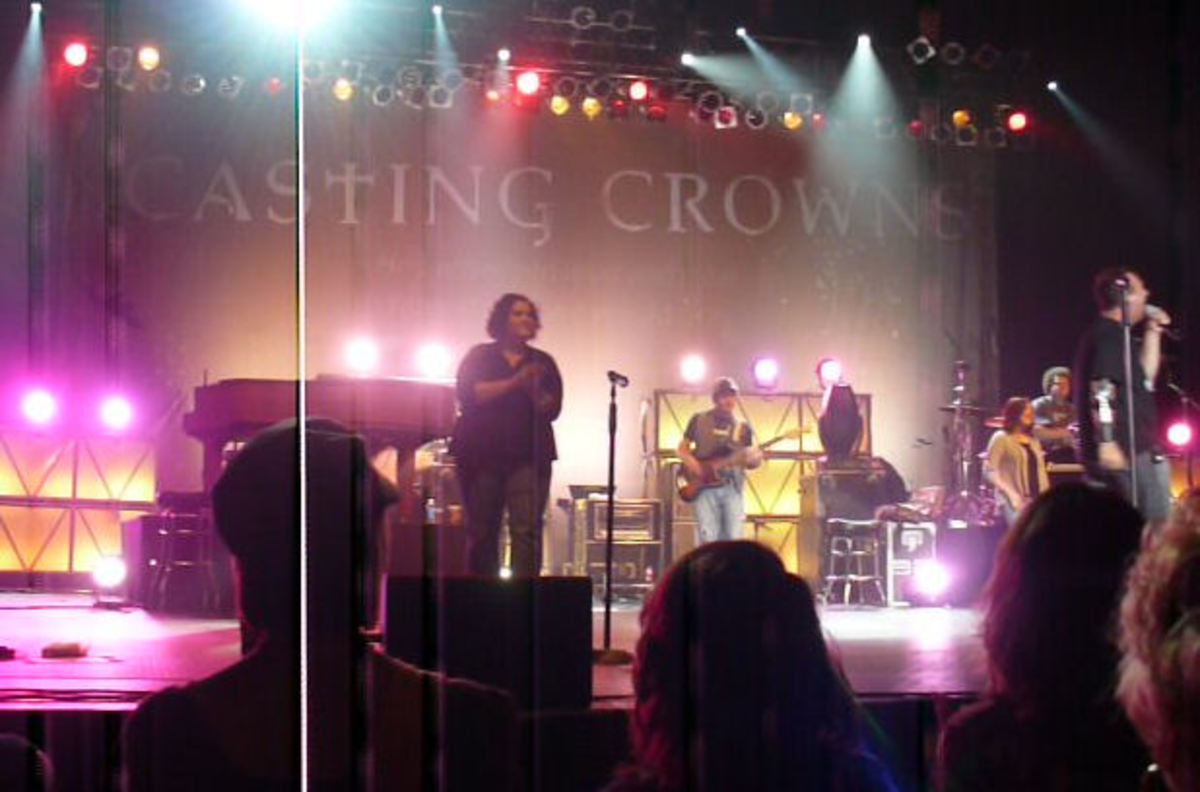 Casting Crowns in Bismarck, North Dakota.