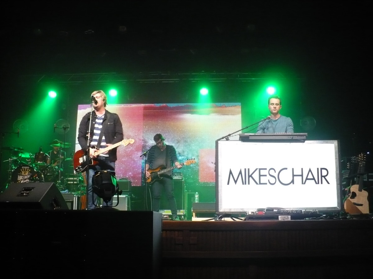MIKESCHAIR performs in Dickinson, North Dakota.