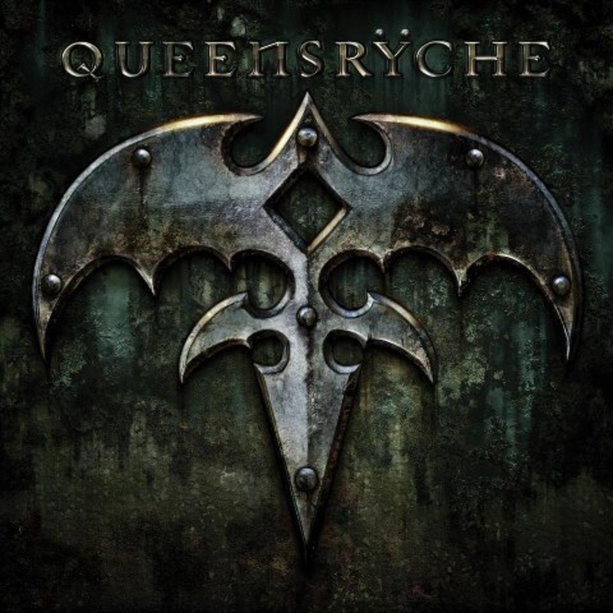 """Queensrÿche"" self titled album cover"