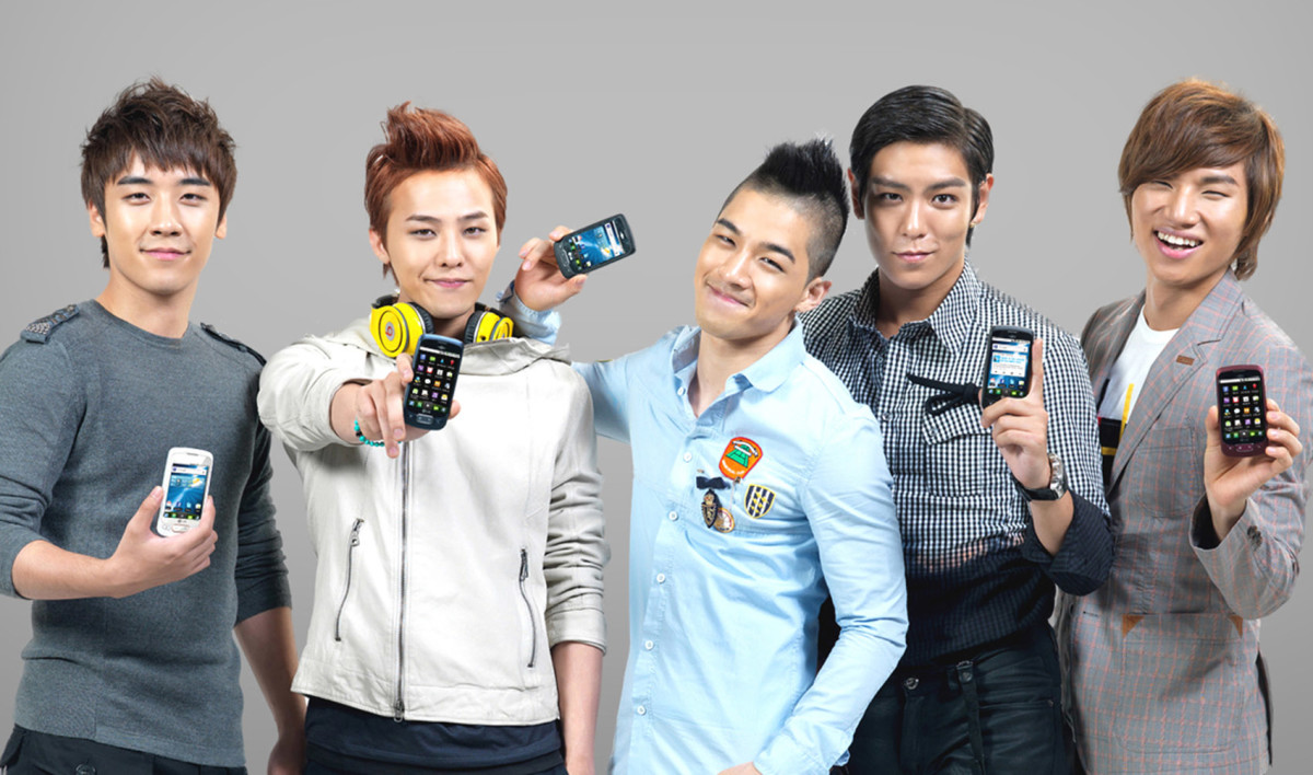 The members of Big Bang.