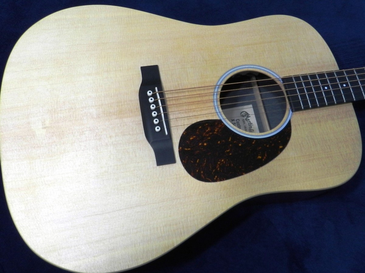 Martin uses alternative tonewoods and materials in the X-Series guitars.