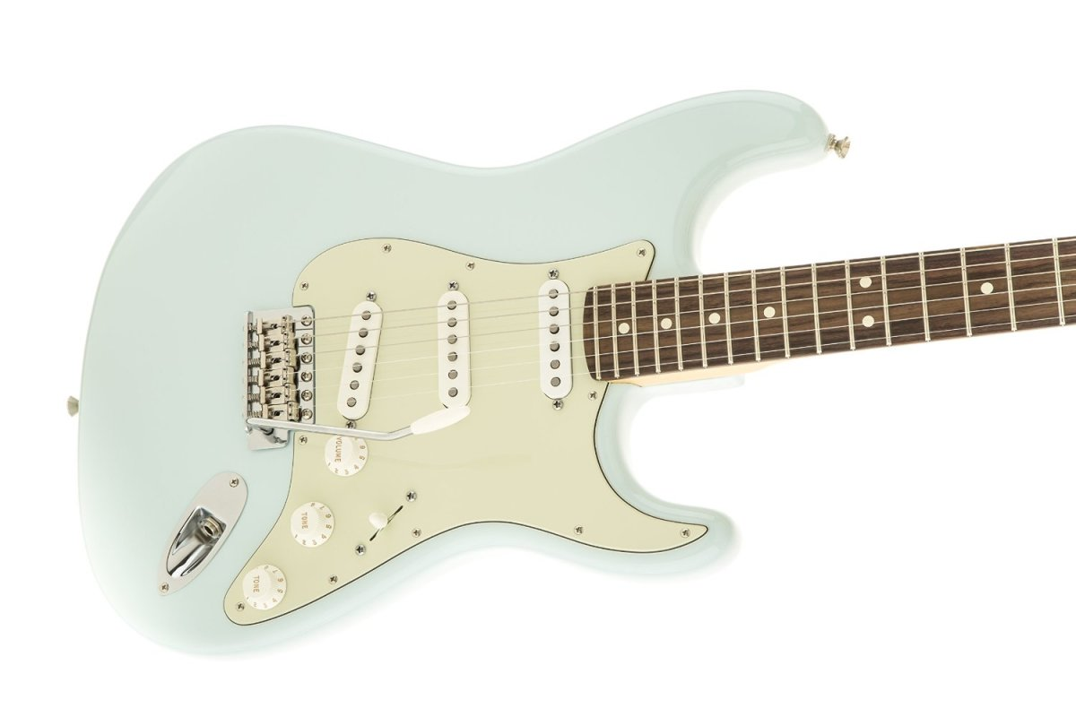 The Fender American Special Stratocaster in Sonic Blue with a Rosewood Fingerboard