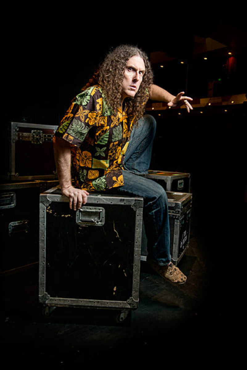 """Weird Al"" is a master of parody who has composed many songs about food."