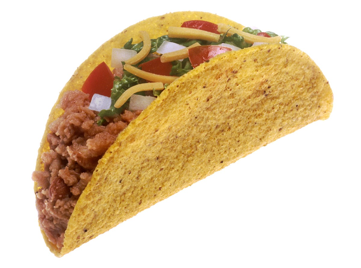 Just want to make sure that this Taco isn't from Satan.