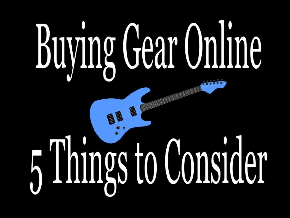 5 Things to Consider When Buying a Guitar or Amp Online
