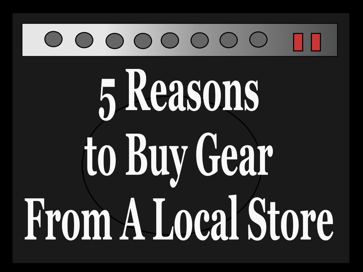 5 Reasons to Consider Buying a Guitar or Amp from a Local Store Instead of Online