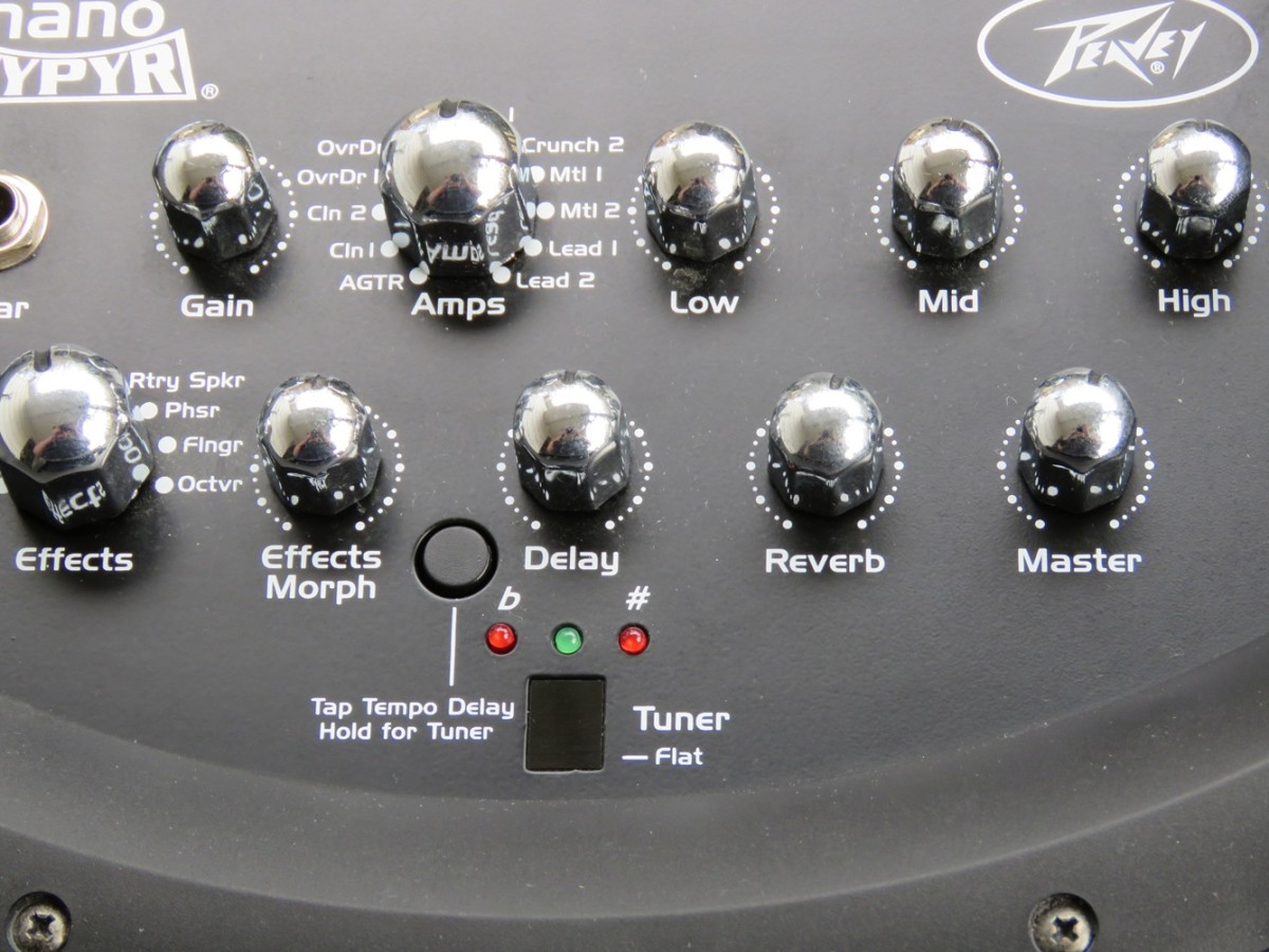 Peavey Nano Vypyr Top Panel