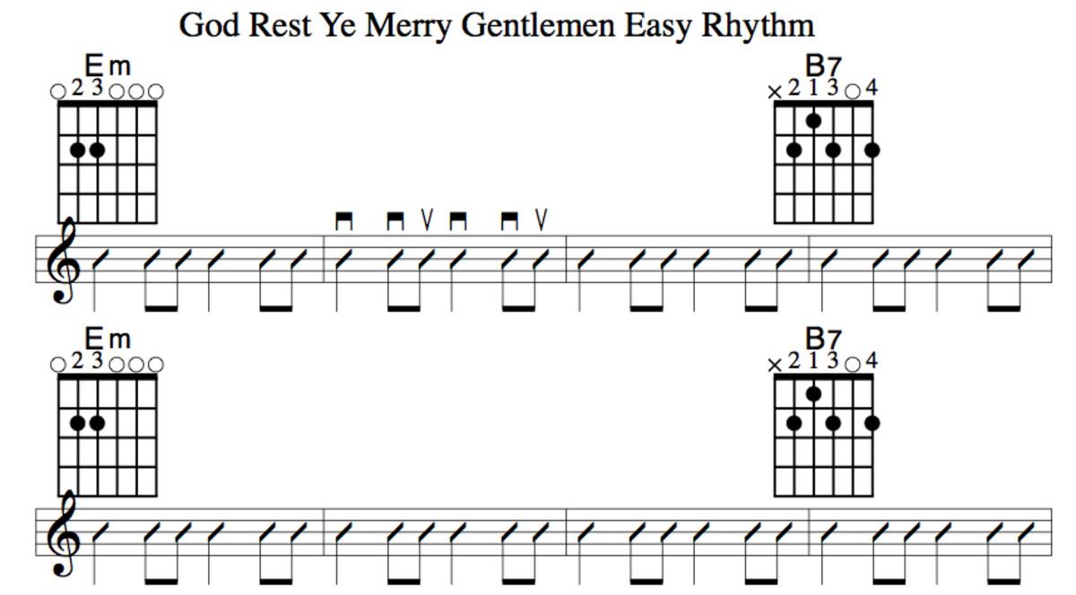 Easy Guitar Christmas Songsgod Rest Ye Merry Gentlemenchords