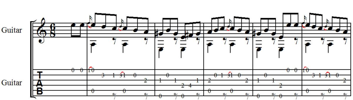 easy-classical-guitar-giulianis-allegro-opus-50-no6