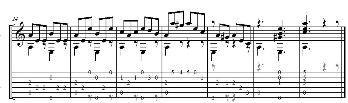 Giuliani - Allegro Opus 50 no.6