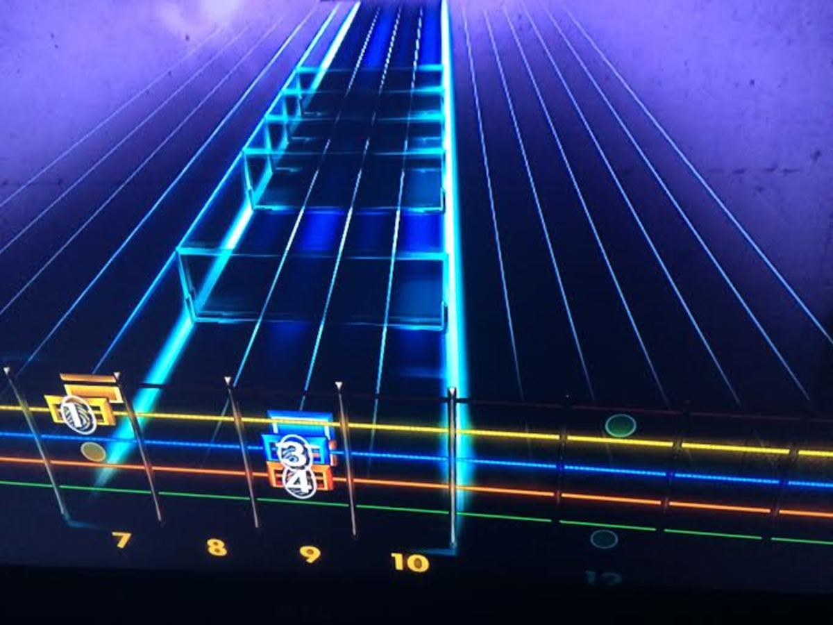 Inverting the note highway makes Rocksmith 2014 more like traditional guitar tablature.