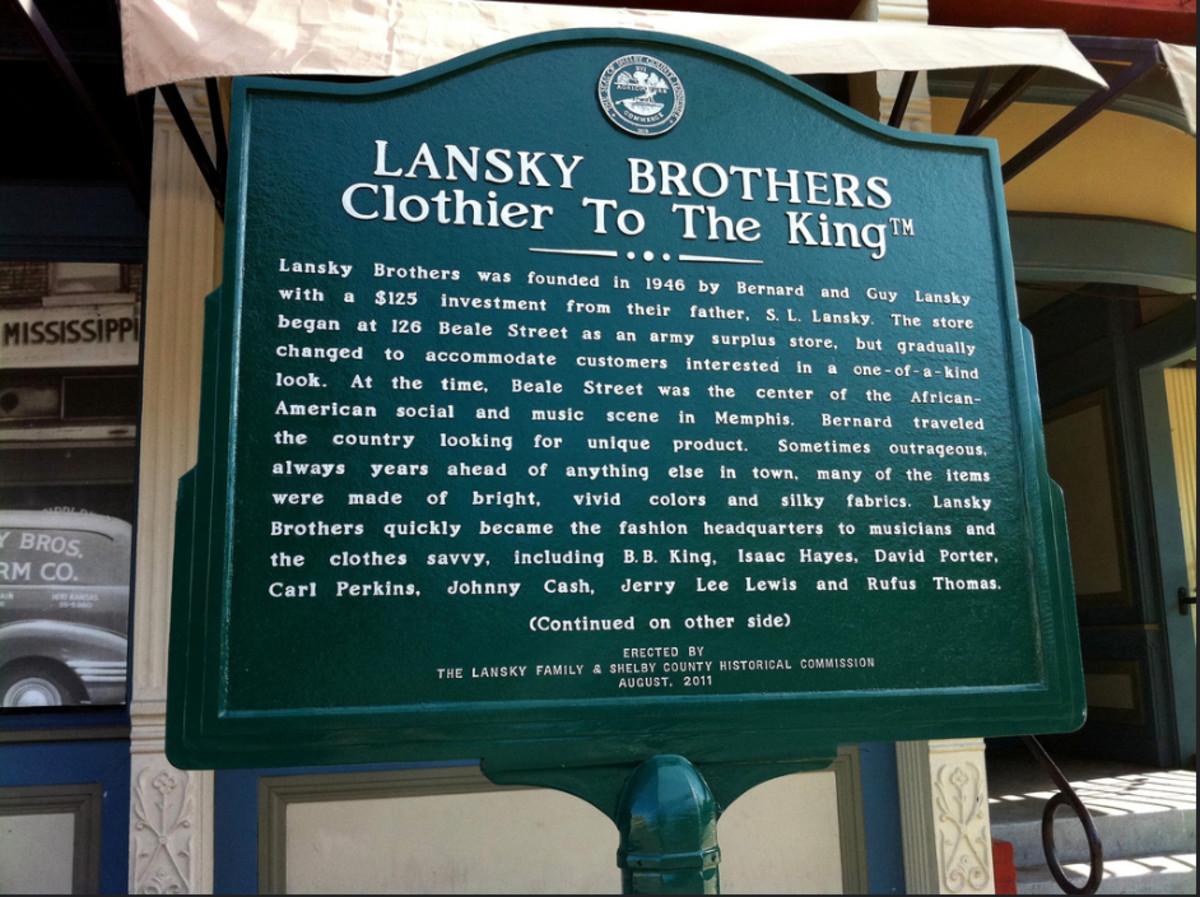 Bernard Lansky engineered Elvis Presley's signature style.