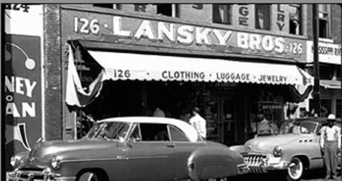 Bernard and Guy Lansky started their retail business in 1946 with a $125.00 loan from their father Samuel Lansky.