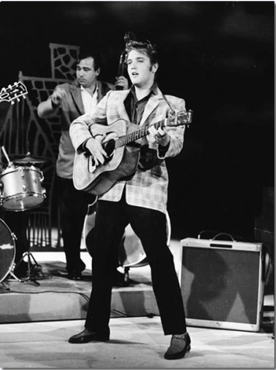 Clothier Bernard Lansky provided Elvis Presley the  outfit he wore on his pioneering September 9, 1956 appearance on the Ed Sullivan Show.