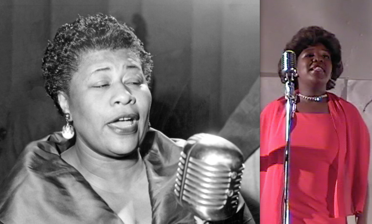 Ella Fitzgerald's performance to white only audiences at the Midnight Rambles is reenacted.