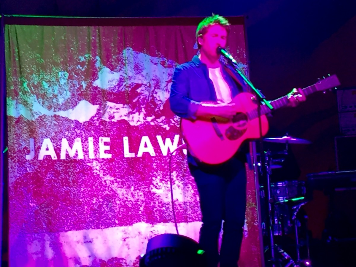 After hearing Jamie Lawson in concert as the opening act for Vance Joy, I became an instant fan.