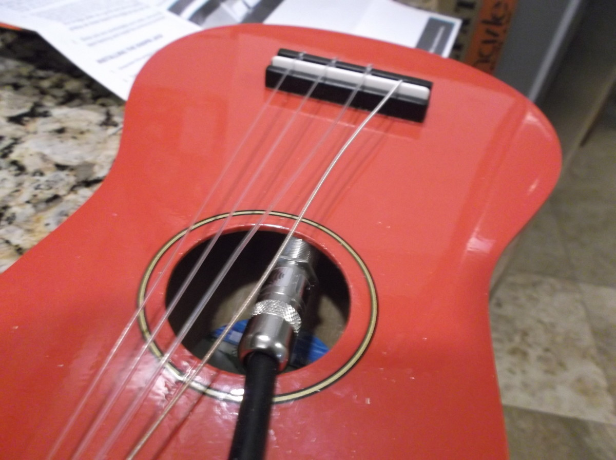 As shown here, those slacked-off strings are very helpful at this point!