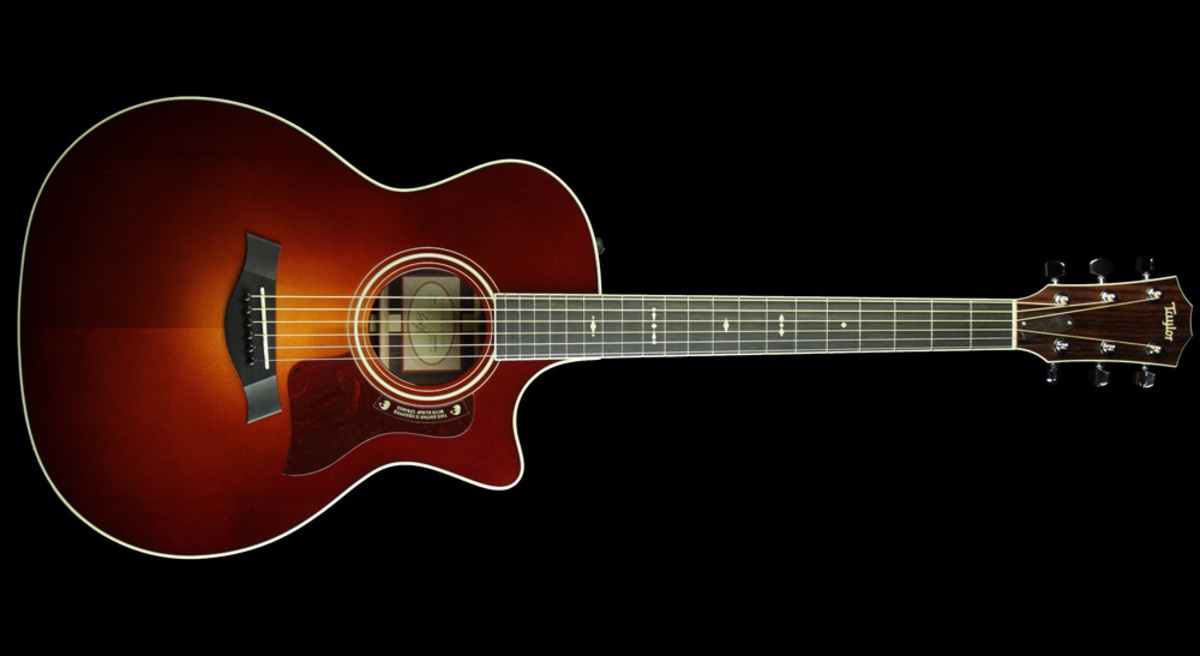 Taylor 714ce Western Red Cedar Acoustic/Electric Guitar Vintage Sunburst