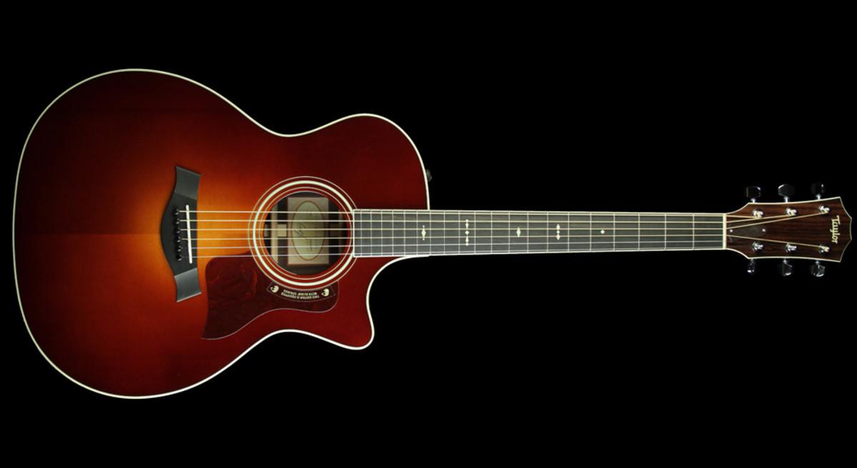 Taylor 714ce Western Red Cedar Acoustic/Electric Guitar Vintage Sunburst