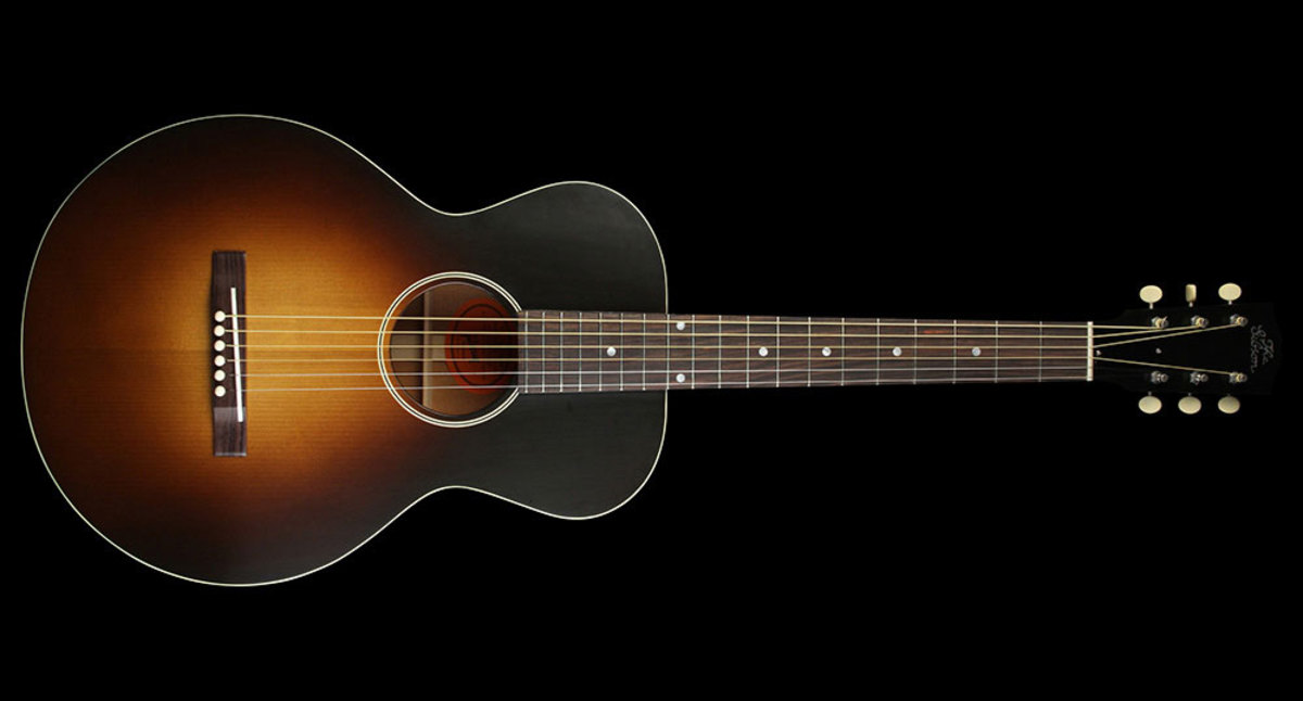 Gibson 1928 L-1 Blues Tribute Acoustic/Electric Guitar Vintage Sunburst