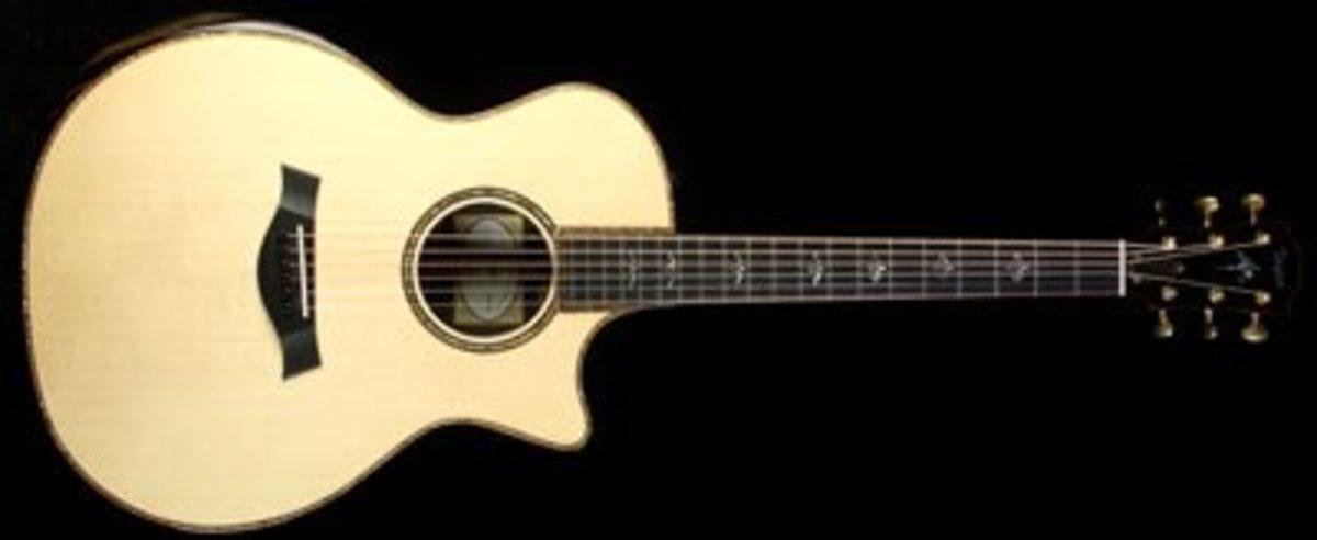 Taylor 914ce Grand Auditorium Acoustic-Electric Guitar Natural