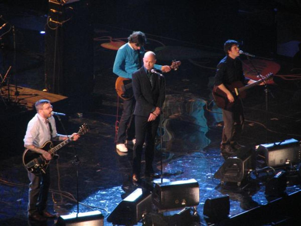 The Hip at Canada's Juno Awards in Vancouver BC in 2009