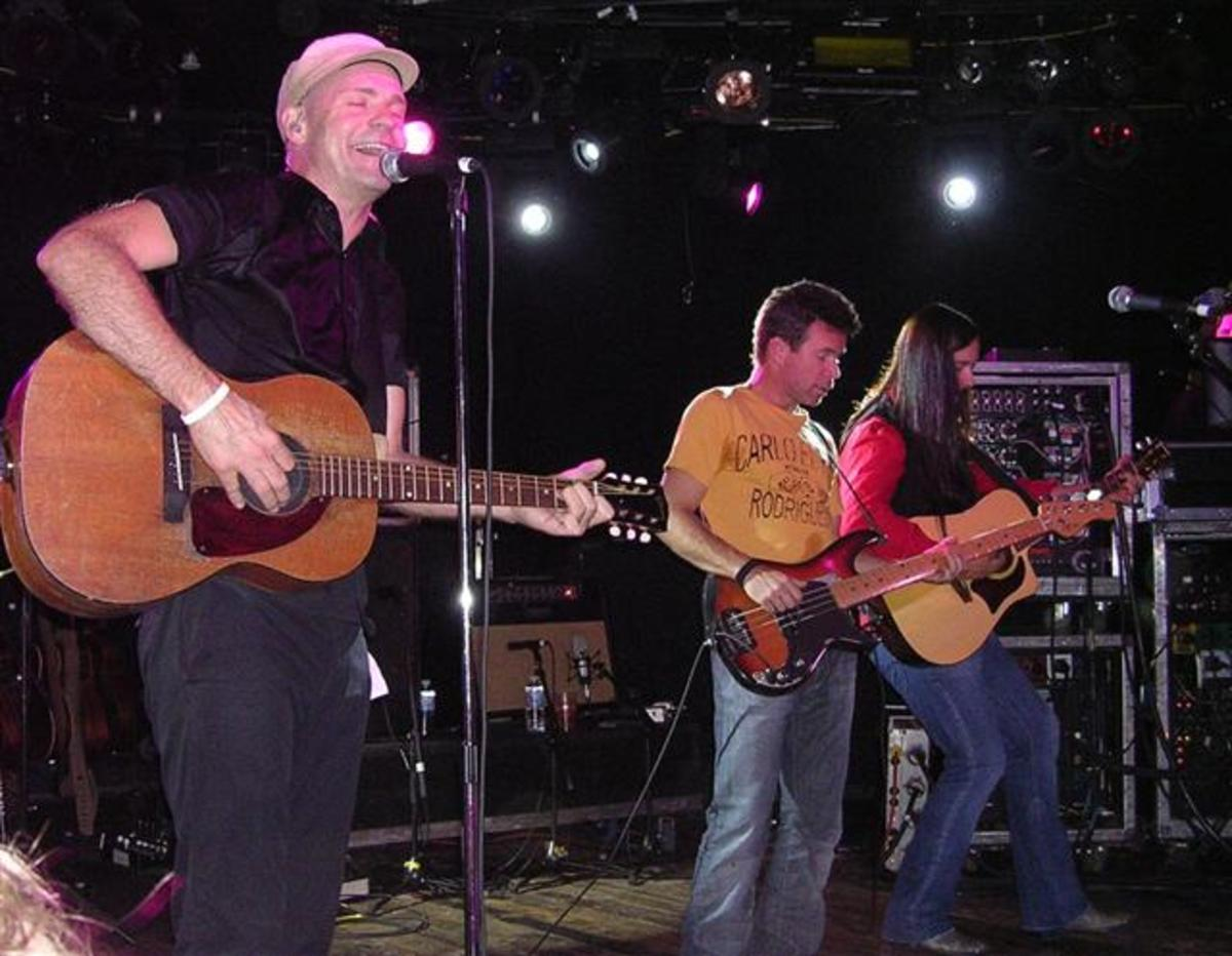 The Hip performing in Aspen, Colorado on October 16, 2007