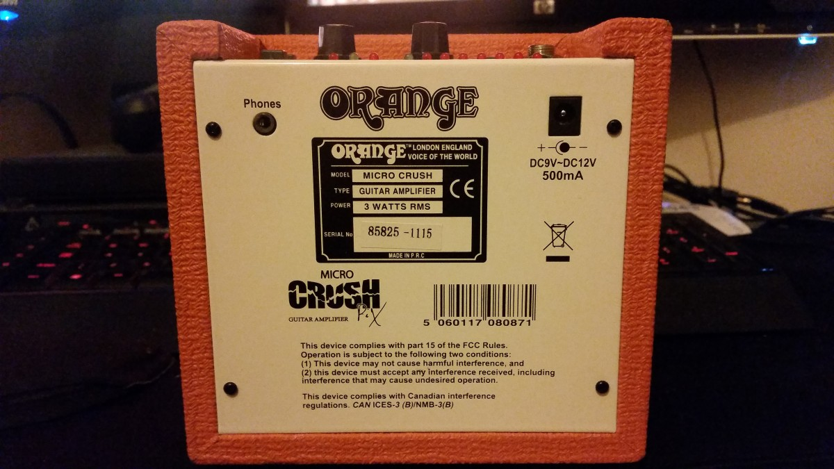 The Micro Crush has a large metal backing plate and feels sturdy and reliable.