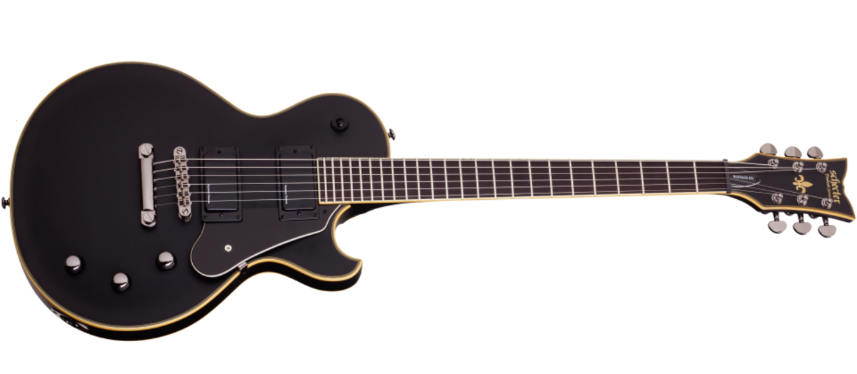 Schecter Blackjack ATX Solo II in ebony finish