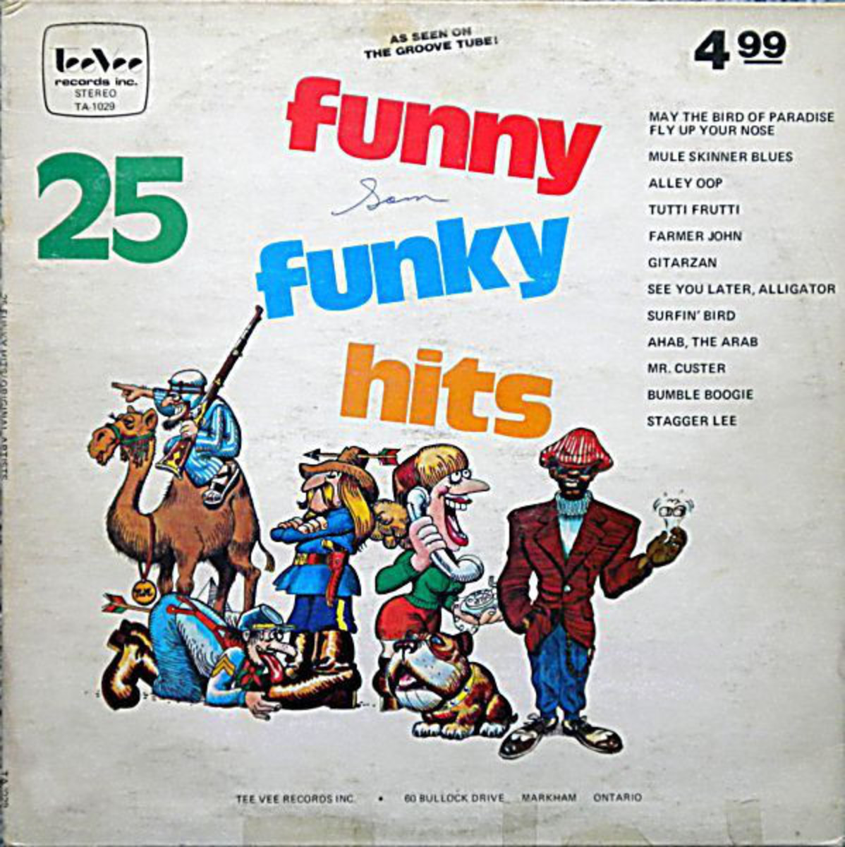 25 Funny Funky Hits