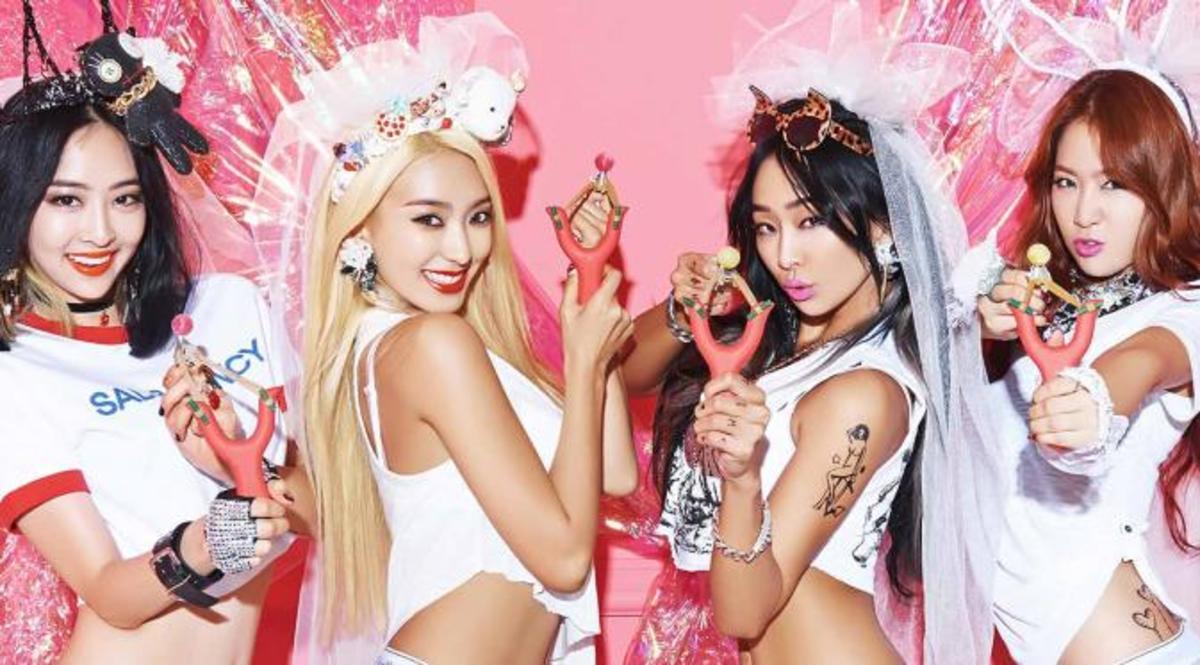 Daftar girlband korea tersexy