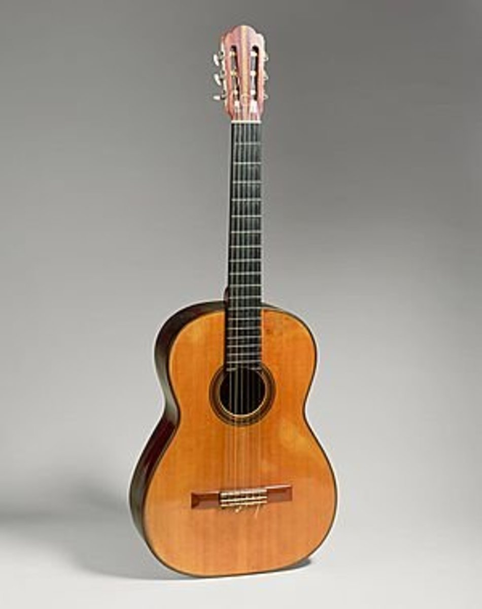 Nylon-string classical guitar