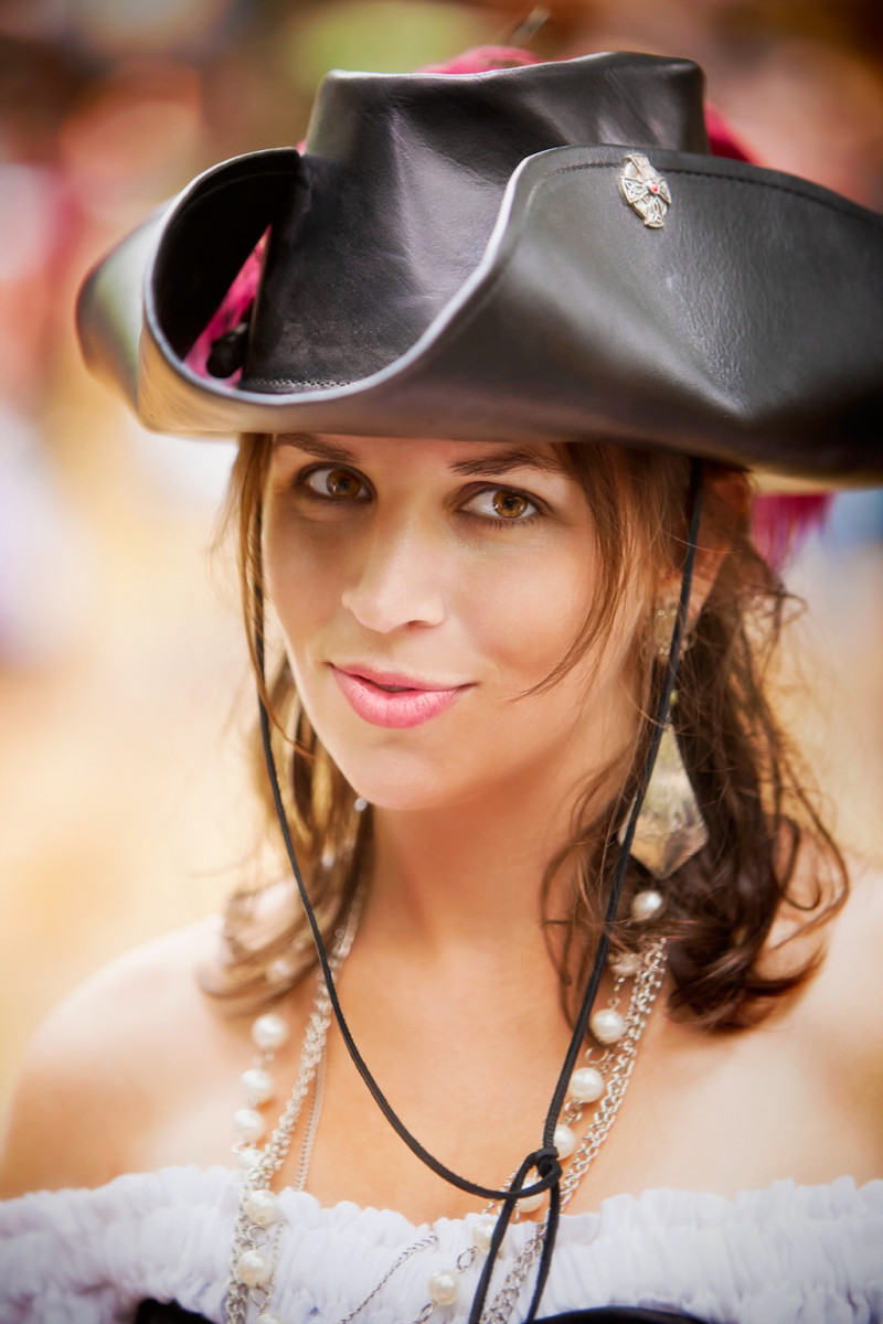 Don't even try a pickup line on this cowgirl.  She's a lady who will rope and wrangle you.