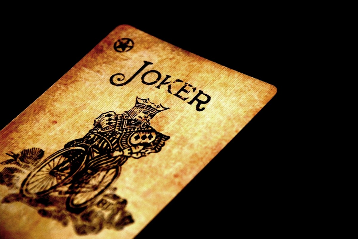 Everyone plays the joker or fool from time to time.