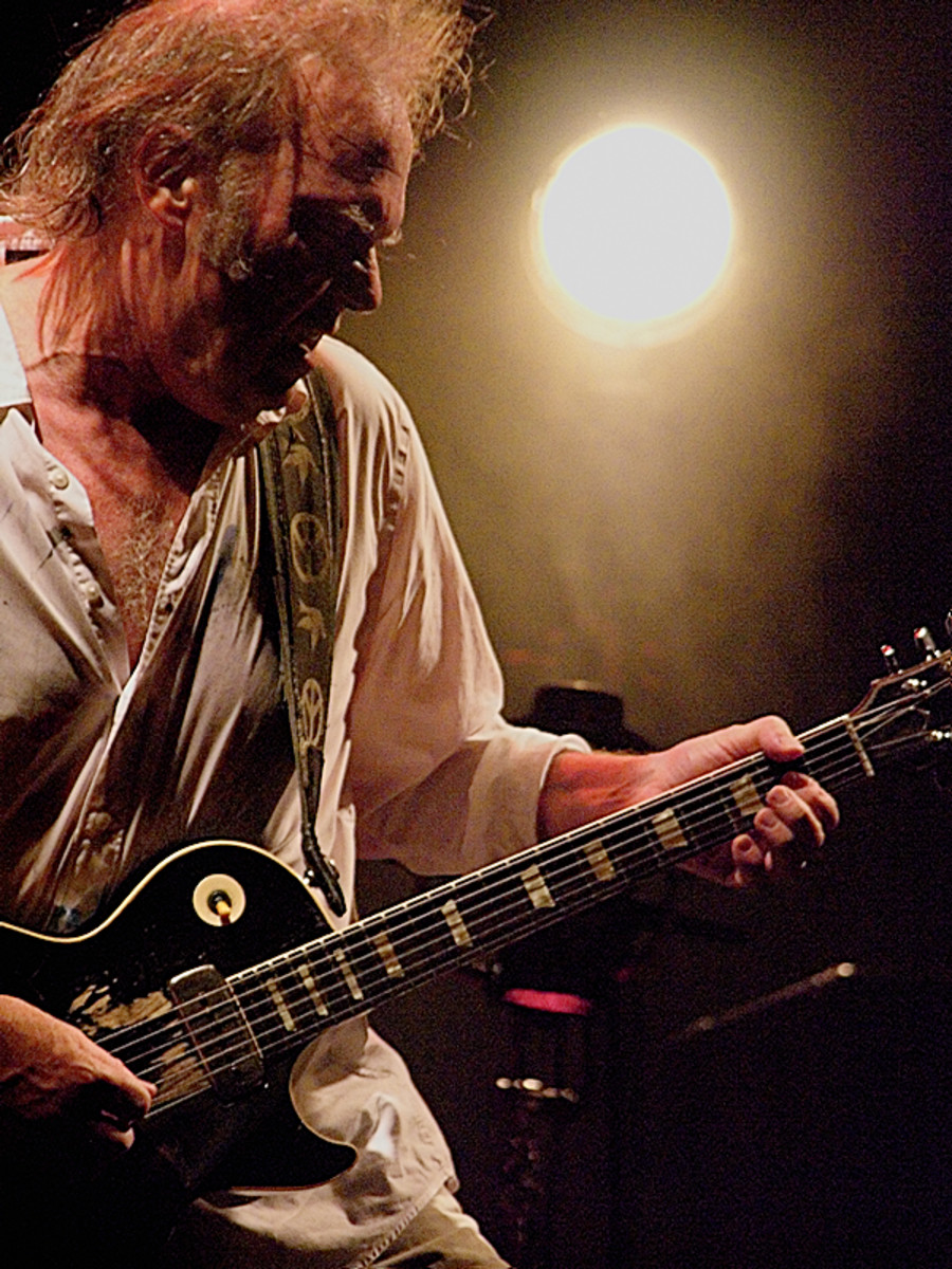 Neil Young live in 2008