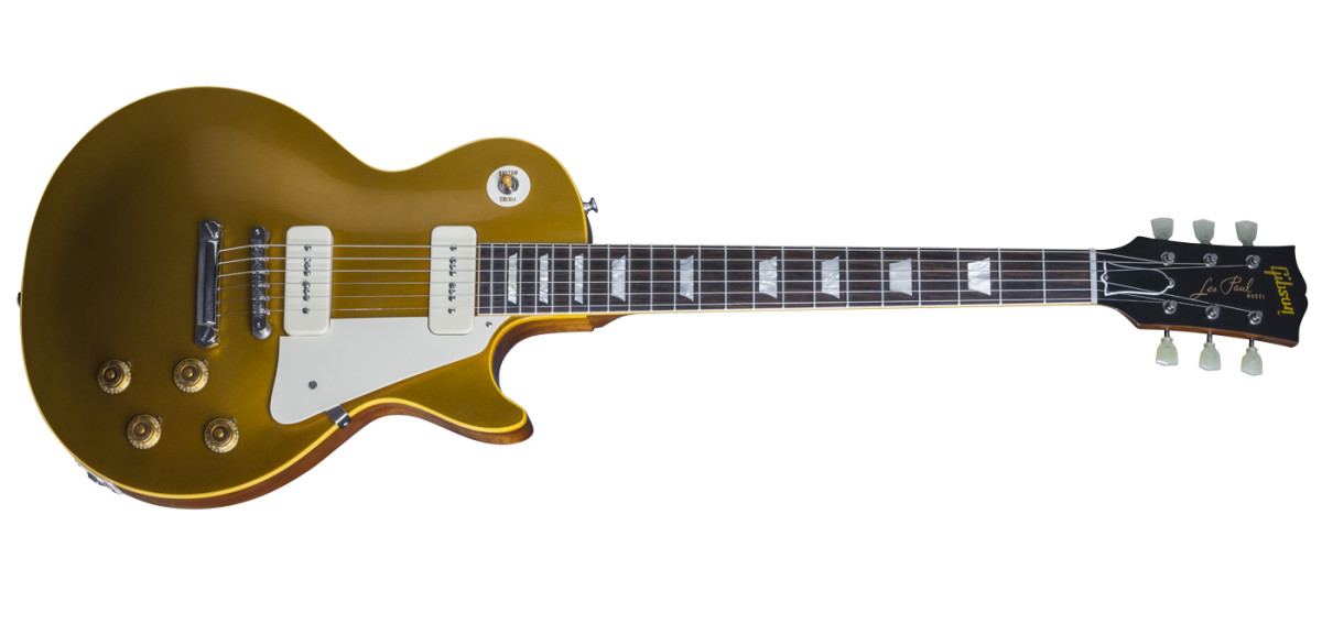 True Historic 1956 Les Paul Goldtop Reissue.