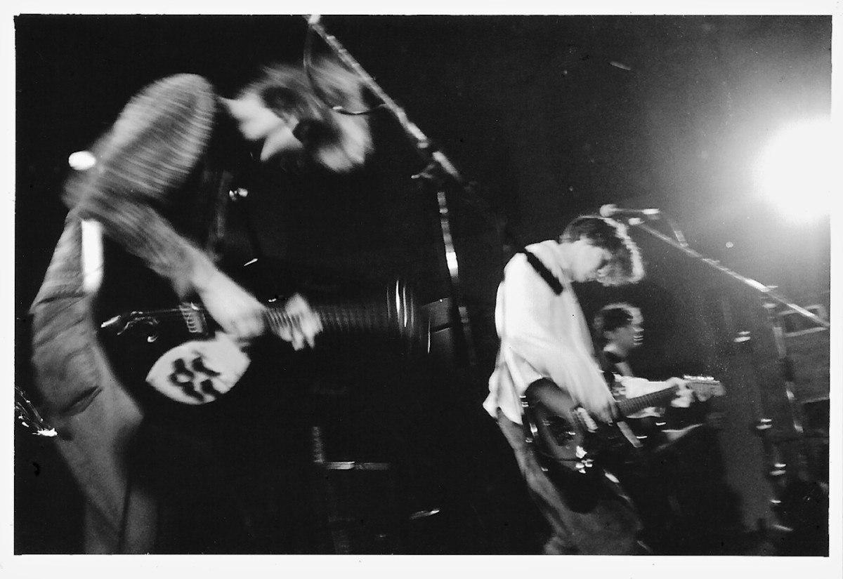 Ride live in Oxford, England 1990