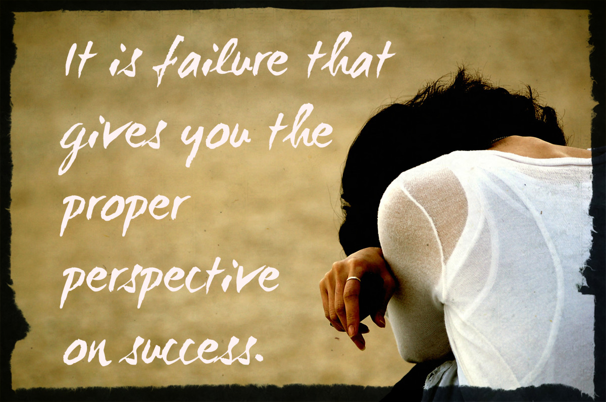"""It's failure that gives you the proper perspective on success."" - Ellen DeGeneres, American comedienne"