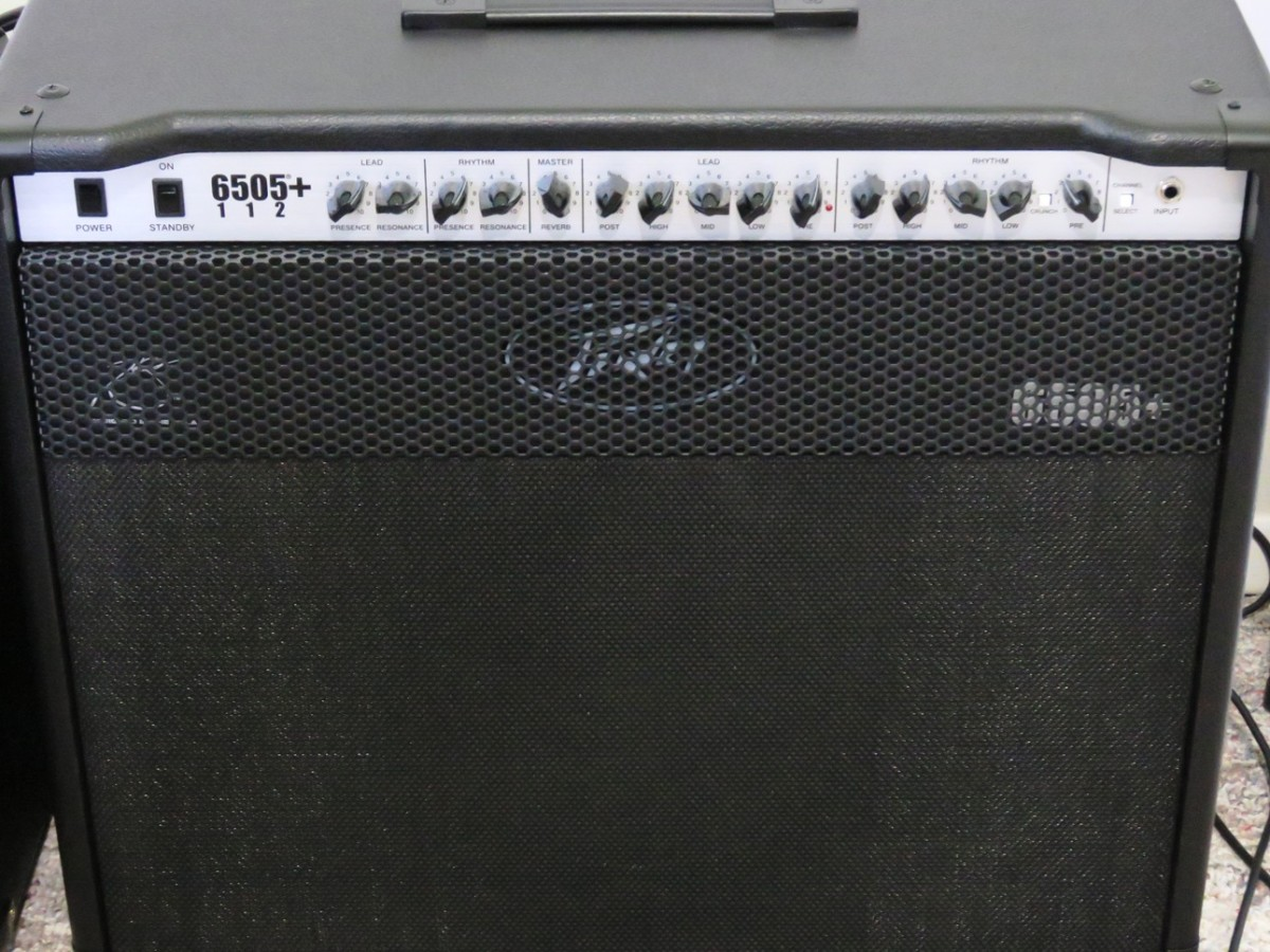 A powerful combo like the Peavey 6505+ 112 can get the job done at home or in a band situation.