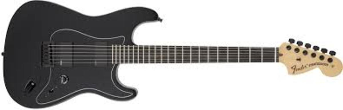 Fender Artist Series Jim Root Stratocaster in black with ebony fingerboard