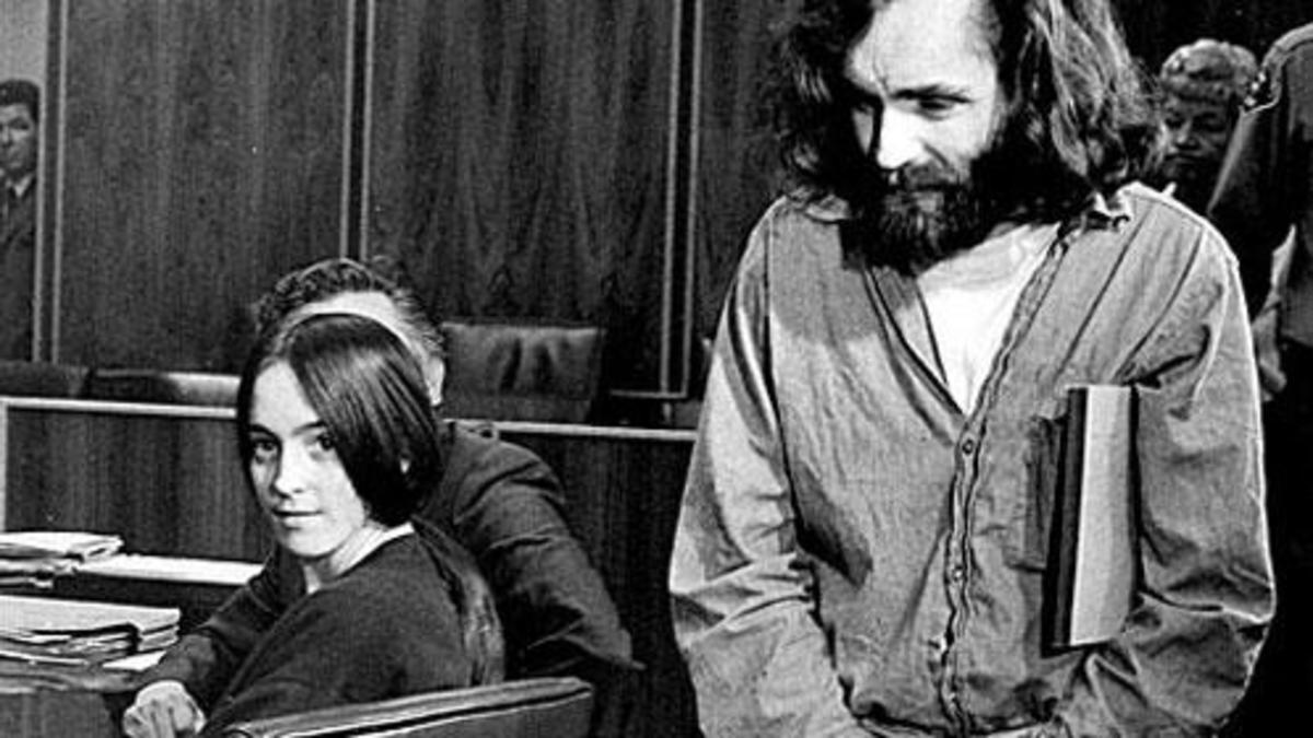 Susan Atkins and Charles Manson