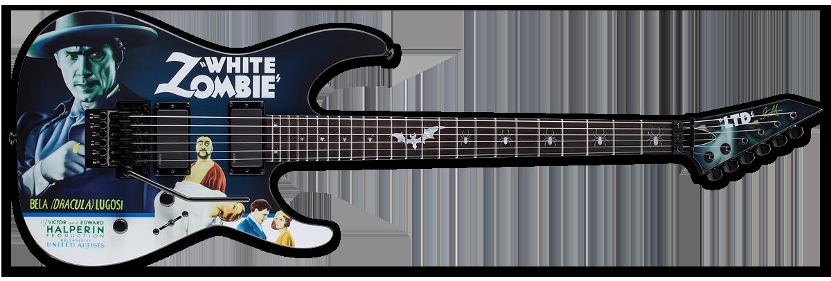 ESP LTD Kirk Hammett KH-WZ White Zombie